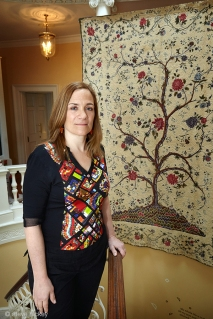 Tracy Chevalier at Danson House